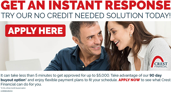 Crest Financial Apply Here